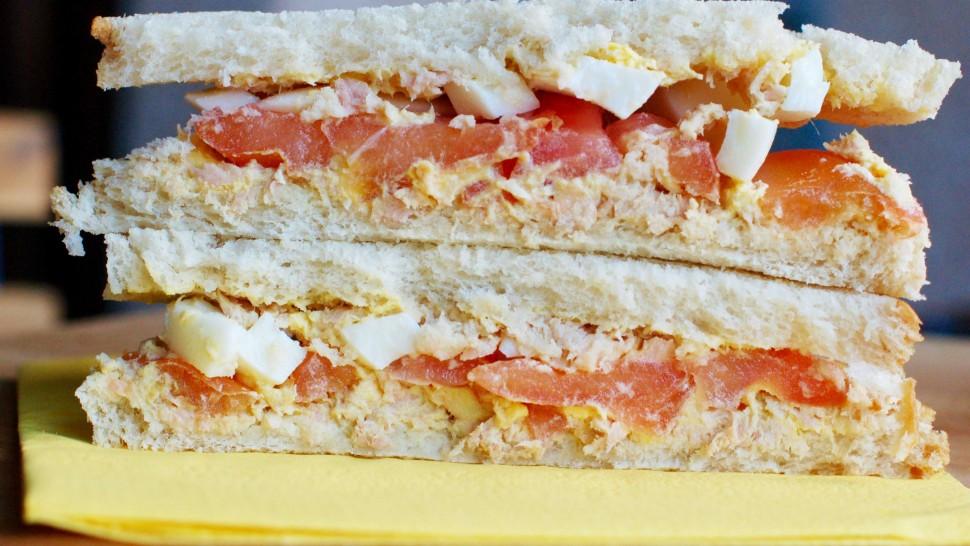sandwich con tonno
