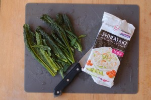 Shirataki ingredienti