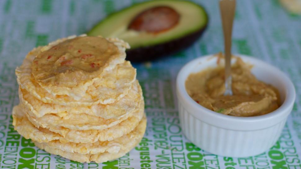 Gallette di mais con salsa di avocado