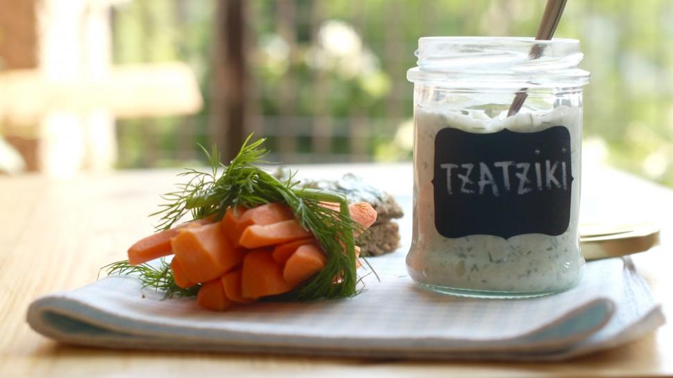 Pinzimonio e salsa tzatziki