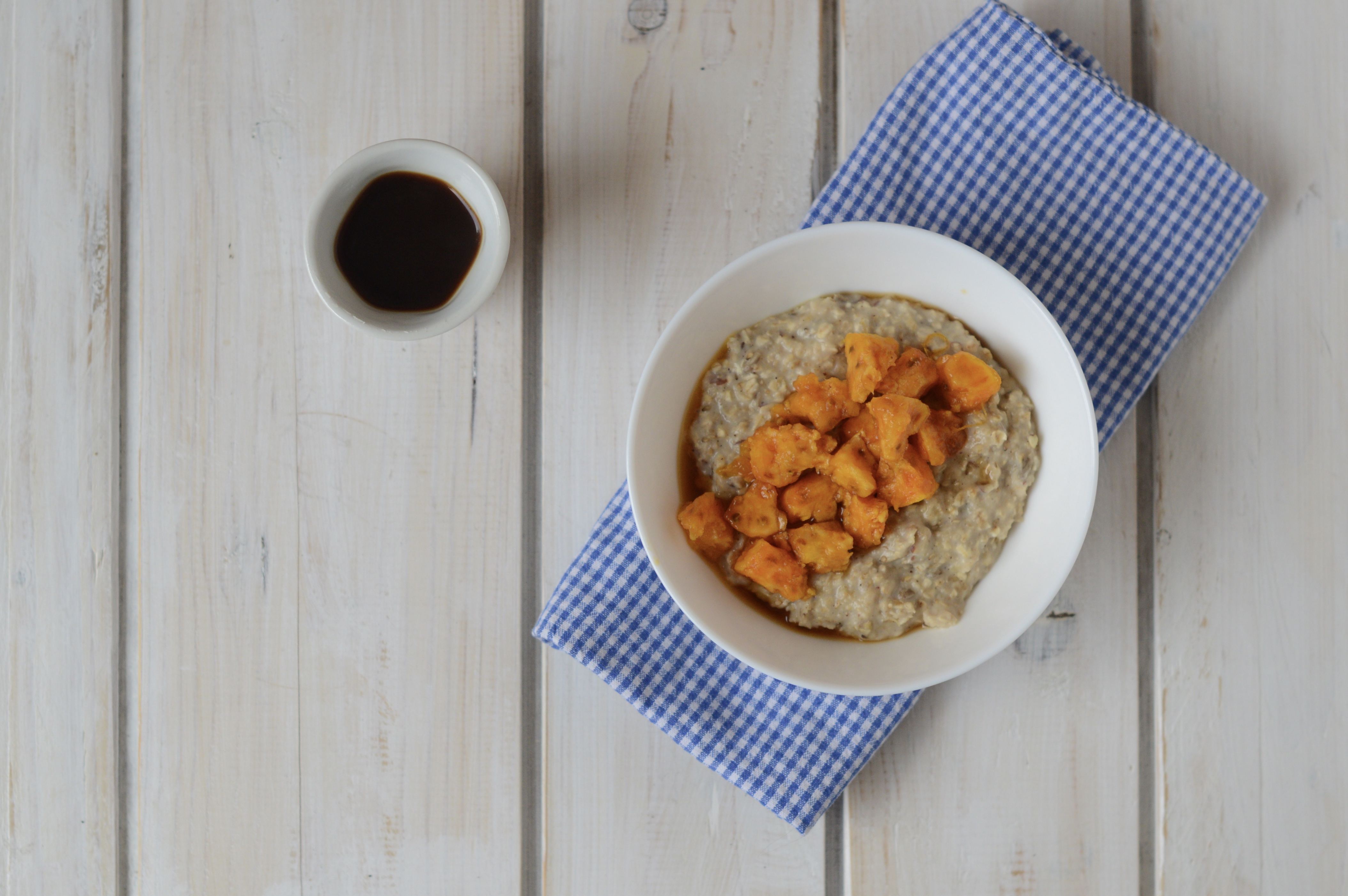 Porridge con fichi d'india