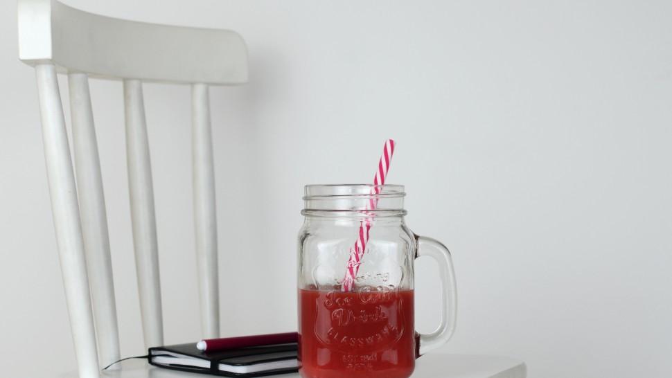 Schiscetta da bere: estratto di carote, mela e zenzero